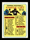 1964 Topps Football Cards 18