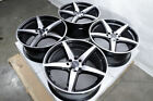 16 Wheels Honda Accord Civic Spark Escort Focus Corolla Prius Black Rim 4 Lug