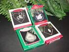 Lot of 4 - TWELVE 12 DAYS OF CHRISTMAS - Hallmark ornaments - 3rd 7th 10th 12th