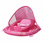 SwimWays Infant Baby Inflatable Swimming Pool Spring Float  Canopy Pink Flower