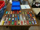 Mattel Hot Wheels 48 Car Carry Case Lot With 48 Cars Matchbox Others Some VTG