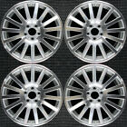 Ford Five Hundred Machined 18 OEM Wheel Set 2005 to 2007