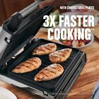 George Foreman Contact Smokeless Ready Grill Family4 6 Servings GRS6090B 1