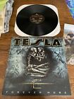 Tesla Band Signed Forever More Album Lp Rare Never Played From Band Site