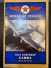 ERTL Collectible Wings Of Texico 1932 Northrop Gamma Diecast Airplane Coin Bank