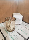 Just Artifacts 100pc Mercury Glass Votive Candle Holder 275 H Speckled Gold