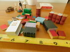 100 PC Doll House Miniatures Decor Lot Books Lamps Toys Nativity Clock Mag Rack