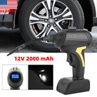 12V Air Compressor fit Car Tire Inflator Filler Electric Pump Auto Bike USB Plug