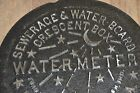 NEW ORLEANS WATER METER COVER CRESCENT CITY NOLA FRENCH QUARTER CAST IRON REAL