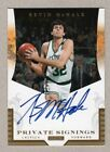 2016 Panini NBA Finals Private Signings Basketball Cards 14