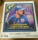 NEW 2020 Topps Gallery Baseball SEALED Hobby Box 2 AUTOGRAPHS 100 Total Cards
