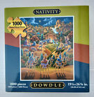 DOWDLE Nativity Jigsaw Puzzle 1000 Pieces 19 1 4 x 26 5 8 New in box