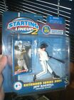 JEFF BAGWELL 2001 EXTENDED SERIES STARTING LINEUP 2 FIGURE. NEVER OPENED. KENNER