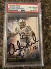 Andrew Luck 2015 Topps Valor Signed Auto Card PSA DNA Slab Authentic Colts