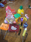 APR OFFERS / COMBINE - HELLO KITTY BANDAI JUICE BAR PLAYSET DREAM HOUSE PEZ LOT