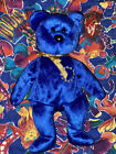 Blue Unity The Bear Ty Beanie Baby With Tag
