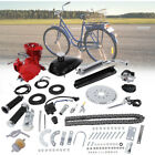 Red 80CC 2 Cycle Gas Motor Motorized Engine Bike Bicycle Moped Scooter Kit New