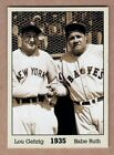 Lou Gehrig Cards, Rookie Cards, and Memorabilia Guide 11