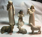 DEMDACO Willow Tree 26005 Nativity 6 Hand Painted Sculpted Figures Susan Lordi