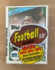 Visual History to Topps Vintage Football Wrappers: 1950 -1980 46