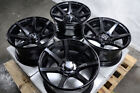 15 Wheels Fit Honda Civic Accord Toyota Corolla Mini Cooper Aveo Black 4 Rims
