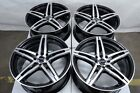 15 Wheels Acura CL Integra Legend Honda Accord Civic Jetta 4 Lug Black Rims