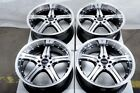 15 Wheels Cobalt Contour Escort Fiesta Focus Accord Civic Black Rims 4 Lugs 4