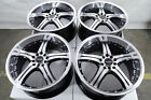 18 Black Wheels Fits Honda Accord Civic Prelude Element Insight Crosstour Rims