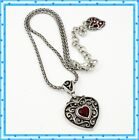 Brighton Go Red Heart Retired Pendant Necklace