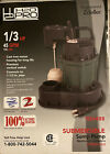 Zoeller H2OPRO 1 3 HP Cast Iron Submersible Sump Pump New 45 GPM