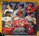 2018 Topps MLB Holiday Walmart factory sealed unopen box 1 relic or auto on avg