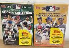 2019 & 2020 Topps MLB Sticker Collection Baseball Blaster Box- 80 Cards Lot of 2