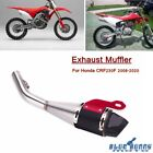 1 Set Motorcycle Exhaust Muffler Pipe System For Honda CFR230F 2008 2020 Chrome