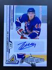 2010-11 Pinnacle Mats Zuccarello 299 Auto Rookie Ice Breakers Rangers Autograph