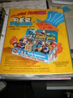 PEZ ad sheet 1976 PEZ PAL Engineer Pilot stewardess Sheriff nurse salesman