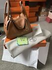 Brand New Hermes Lindy 26 Evercolor Leather Gold Color Gold Hardware