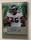 LeSEAN McCOY 2013 TOPPS CERTIFIED AUTO AUTOGRAPH PATCH CARD # 4 5