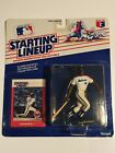 1988 Starting Lineup Baseball Kevin Bass Houston Astros Action Figure & Card New