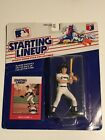1988 Starting Lineup Baseball Will Clark GIANTS Action Figure & Card - New