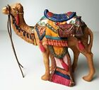 Standing CAMEL Kirkland Signature Christmas Nativity Animal Creche Blue Box