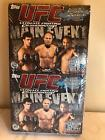 UFC SEALED BOX 2010 Topps UFC Main Event Cards 18 Pack RACK PACK HOBBY BOX
