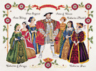 DMC Cross Stitch Kit Henry VIII  Six Wives K3403 Free UK Postage and Packing
