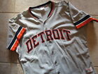 RARE! Authentic Detroit Tigers Rawlings MLB Pro Mesh Jersey Blank 44 L