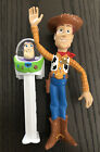 *Disney*Toy Story*Slimways*Bendy Woody*Buzz Lightyear*PEZ Dispenser*Pixar*NICE!*