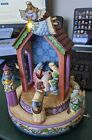 Jim Shore Come And Behold Him Music Box Nativity O Holy Night Enesco See Descr