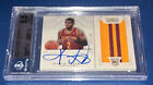 Kyrie Irving 2012 National Treasure Rookie Jersey Patch Autograph RC BGS AUTO 10