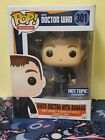 Funko Pop! Doctor Who- Ninth Doctor with Banana #301 Hot Topic Exclusive (NM)