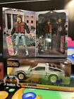Back to the Future 2 6 Diecast DeLorean Time Machine Marty McFly NECA Bundle