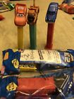 Pez Cars lot of 5 Doc Hudson, Sally , Mater, McQueen, Hudson