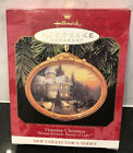 NEW 1997 VICTORIAN CHRISTMAS HALLMARK ORNAMENT 1ST THOMAS KINKADE SERIES CERAMIC
